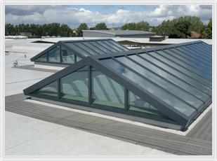 Dual Pitch rooflights